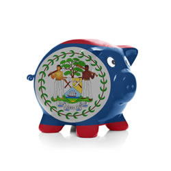 Belize Piggy Bank
